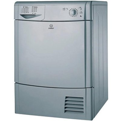 Indesit IDC8T3BS 8kg Condenser Tumble Dryer in Silver Reverse Action