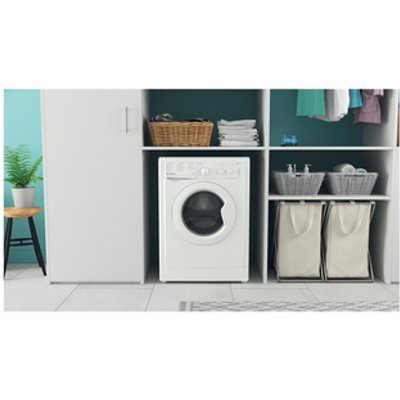 Indesit IWC81251WUKN Washing Machine in White 1200rpm 8Kg F Rated