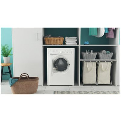 Indesit IWC81283WUKN Washing Machine in White 1200rpm 8Kg D Rated