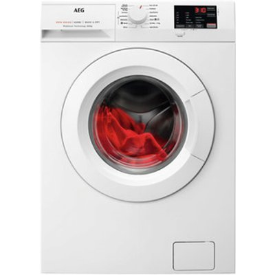 AEG L6WEJ841N Washer Dryer in White 1600rpm 8kg Wash 4kg Dry E Rated
