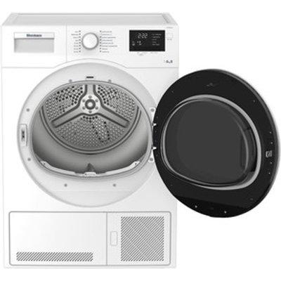 Blomberg LTK28021W 8kg Condenser Tumble Dryer in White Sensor B Energy