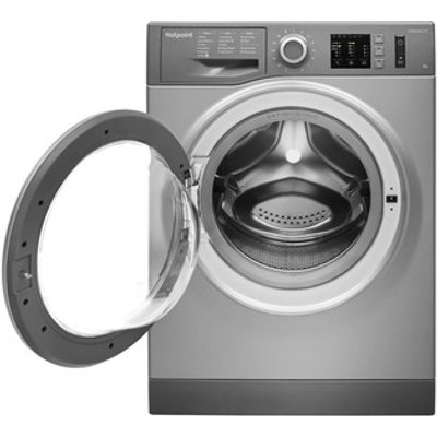 Hotpoint NM10944GS Washing Machine in Graphite 1400rpm 9Kg A Rated