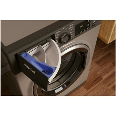 Hotpoint NM11945GCA Washing Machine in Graphite 1400rpm 9Kg A Rated