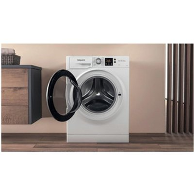 Hotpoint NSWE743UWSUK Washing Machine in White 1400rpm 7Kg D Rated