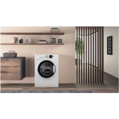 Hotpoint NSWE963CWSUK Washing Machine in White 1600rpm 9Kg A Rated