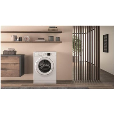 Hotpoint NSWF843CW Washing Machine in White 1400rpm 8Kg A Rated