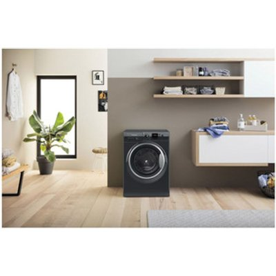 Hotpoint NSWF944CBSUK Washing Machine in Black 1400rpm 9Kg C Rated