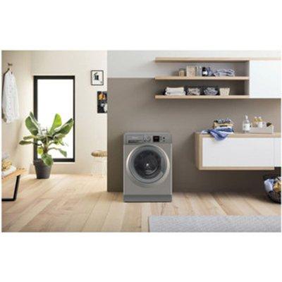 Hotpoint NSWF944CGGUK Washing Machine in Graphite 1400rpm 9Kg C Rated