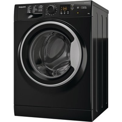 Hotpoint NSWM1043CBS Washing Machine in Black 1400rpm 10Kg A Rated