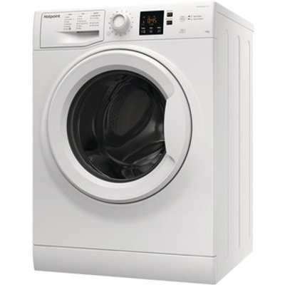 Hotpoint NSWM1043CW Washing Machine in White 1400rpm 10Kg A Rated