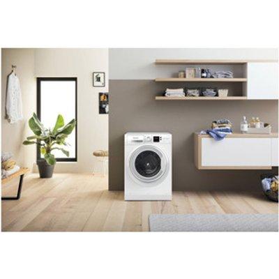 Hotpoint NSWM1044CWUK Washing Machine in White 1400rpm 10Kg C Rated