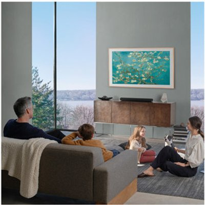 Samsung QE65LS03TA 65 The Frame 4K HDR QLED UHD Smart LED TV 3100 PQI