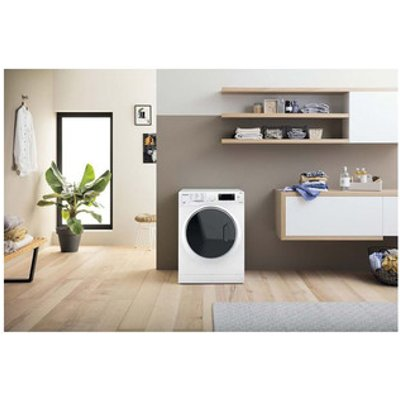 Hotpoint RD1076JDN Ultima S Line Washer Dryer in White 1600rpm 10kg 7k
