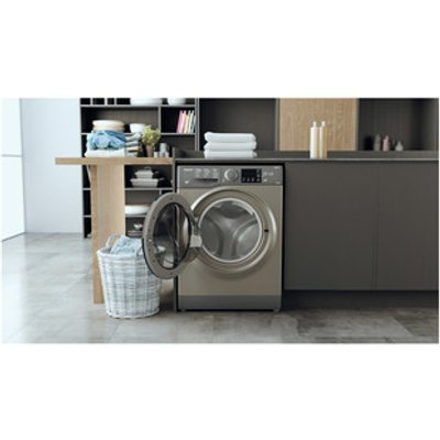 Hotpoint RDG8643GK Washer Dryer in Graphite 1400rpm 8kg 6kg D Rated