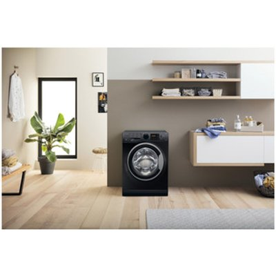 Hotpoint RDG9643KS Washer Dryer in Black 1400rpm 9Kg 6Kg A Energy