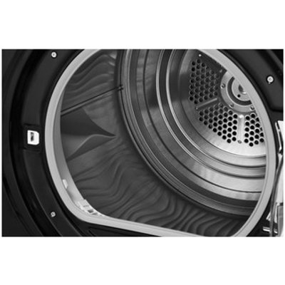 Hotpoint TCFS83BGK 8kg AQUARIUS Condenser Tumble Dryer in Black Sensor