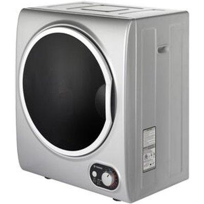 Teknix TKDV25S 2 5kg Tabletop Vented Tumble Dryer in Silver