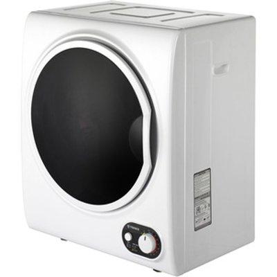 Teknix TKDV25W 2 5kg Tabletop Vented Tumble Dryer in White