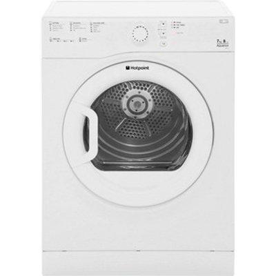 Hotpoint TVFS73BGP 7kg AQUARIUS Vented Tumble Dryer in White Sensor