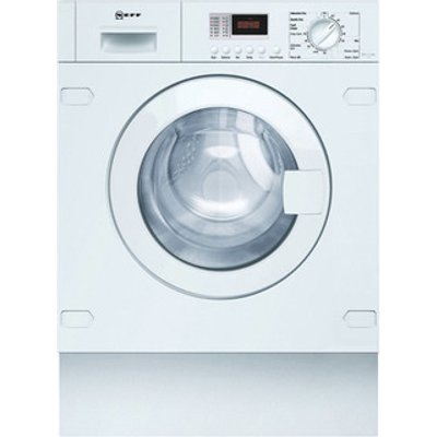 Neff V6320X1GB Integrated Washer Dryer in White 1400rpm 7kg 4kg