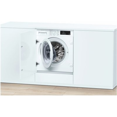Neff W543BX0GB Built In 8kg 1400rpm Washing Machine in White A