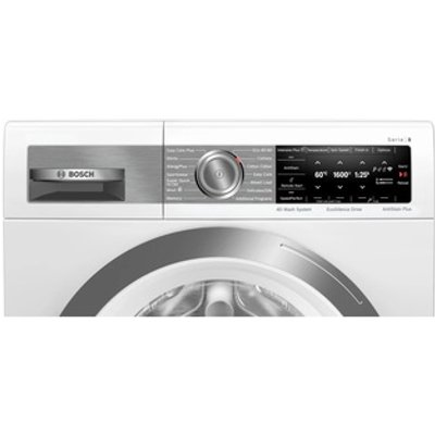 Bosch WAX32GH4GB Serie 8 Washing Machine in White 1600rpm 10kg
