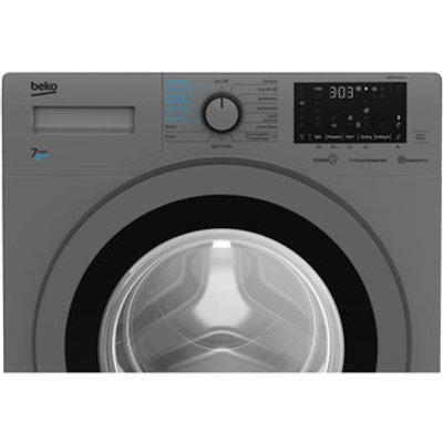 Beko WDER7440421S Washer Dryer in Silver 1400rpm 7kg 4kg D Rated