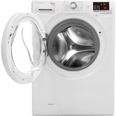 Hoover WDXOC4106A Washer Dryer in White NFC 1400rpm 10kg 6kg A Rated