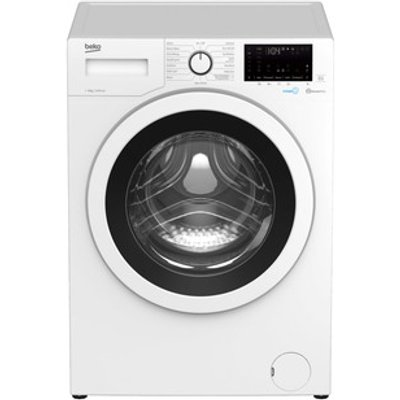 Beko WEC840522W Washing Machine in White 1400rpm 8Kg C Rated