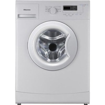 Hisense WFXE6010 Washing Machine in White 1000rpm 6Kg A Rated
