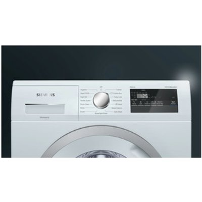 Siemens WM14N190GB Washing Machine in White 1400rpm 7kg A Rated