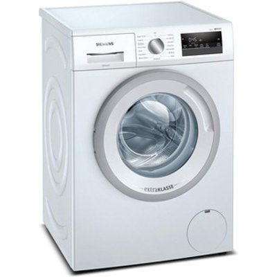 Siemens WM14N191GB Washing Machine in White 1400rpm 7kg D Rated