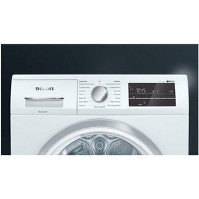 Siemens WT47RT90GB 9kg Heat Pump Condenser Tumble Dryer in White A