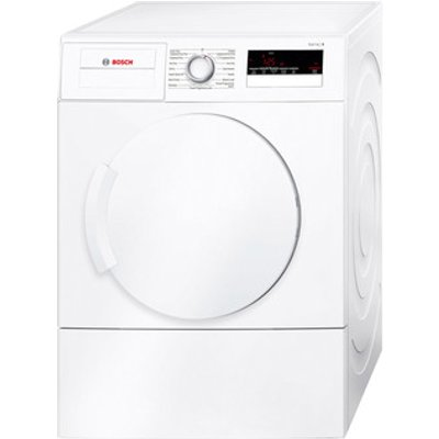 Bosch WTA79200GB 7kg Serie 4 Vented Tumble Dryer in White C Energy
