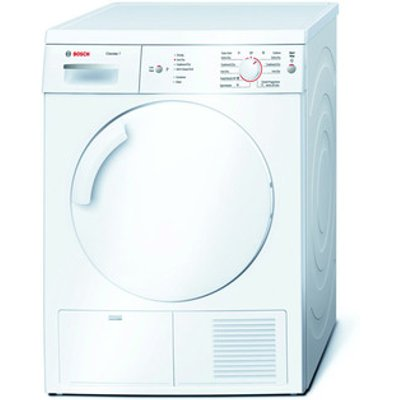 Bosch WTE84106GB 7kg Serie 4 Condenser Dryer in White Sensor B Energy
