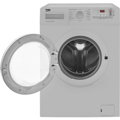 Beko WTG741M1S Washing Machine in Silver 1400 rpm 7Kg