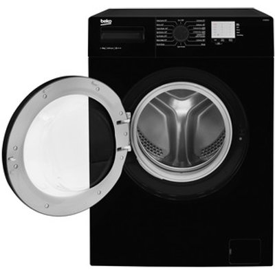 Beko WTG820M1B Washing Machine in Black 1200rpm 8Kg Load A Rated