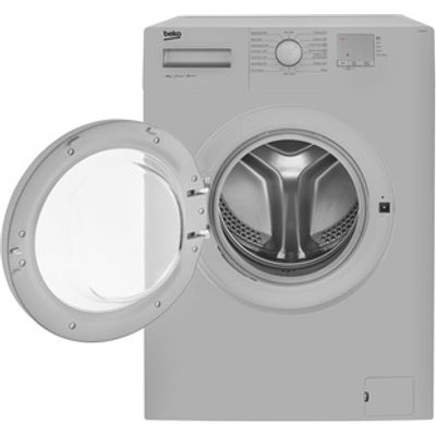 Beko WTG820M1S Washing Machine in Silver 1200rpm 8Kg Load A Rated