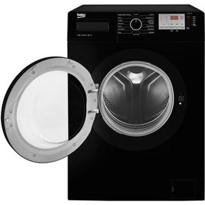 Beko WTG841M2B Washing Machine in Black 1400rpm 8Kg A Rated