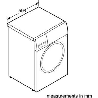Bosch WTH84000GB 8kg Heat Pump Condenser Dryer in White A Rated
