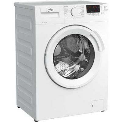 Beko WTL84141W Washing Machine in White 1400rpm 8Kg C Rated