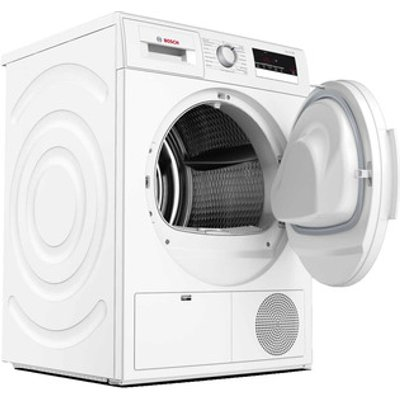 Bosch WTN83200GB 8kg Serie 4 Condenser Dryer in White Sensor B Energy