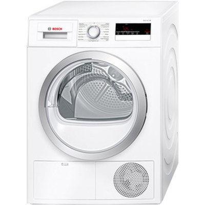 Bosch WTN85200GB 7kg Serie 4 Condenser Dryer in White Sensor B Energy