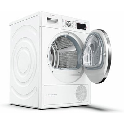 Bosch WTWH7561GB Serie 8 9kg Heat Pump Tumble Dryer in White A Rated