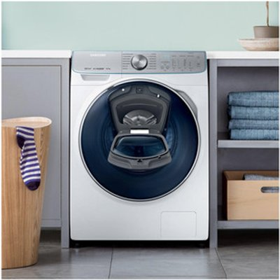 Samsung WW10M86DQOA AddWash Washing Machine in White 1600rpm 10kg A