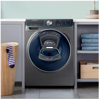 Samsung WW10M86DQOO AddWash Washing Machine in Graphite 1600rpm 10kg A