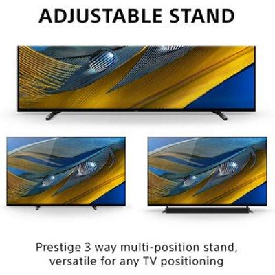 Sony XR77A80JU 77 4K HDR UHD Smart OLED TV Surface Audio Google TV