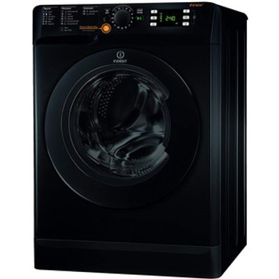 Indesit XWDE861480XK INNEX Washer Dryer in Black 1400rpm 8kg 6kg Energ