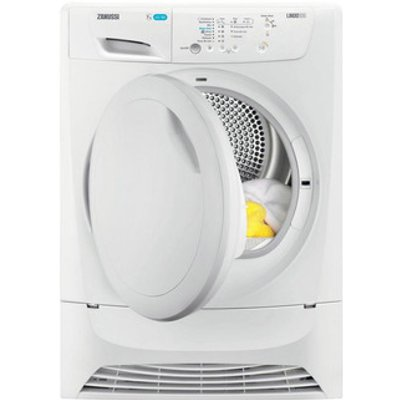Zanussi ZDP7206PZ 7kg Condenser Tumble Dryer in White B Energy