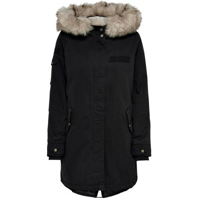 Only Jacke Onlmay Fur Canvas Parka Cc Otw 15180345 | ONLY SALE